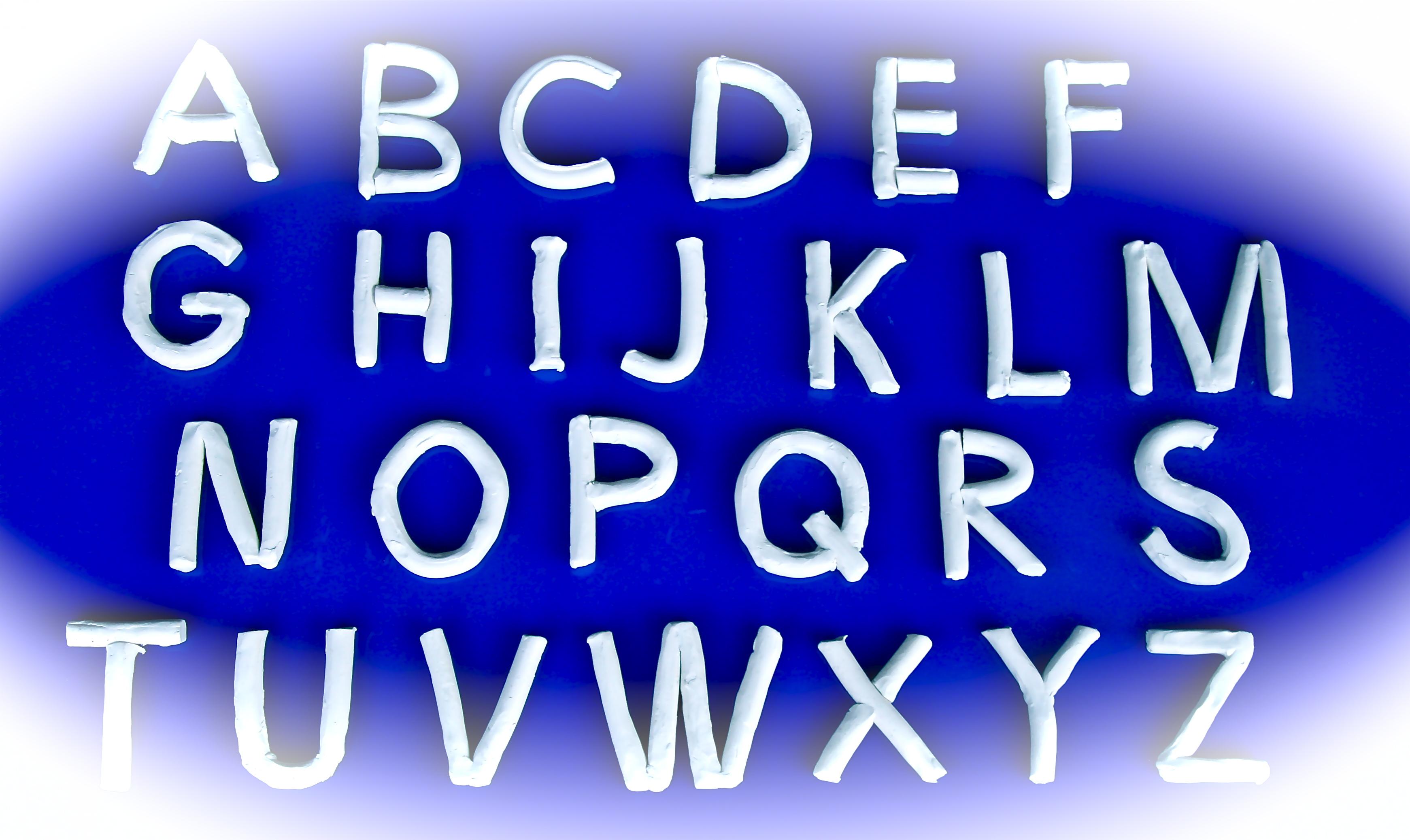 Hoofdletter alfabet